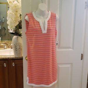 Nautica cotton dress NWT Large